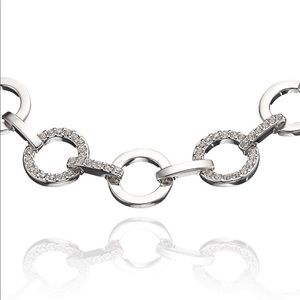 40738fa1c Swarovski Jewelry - Swarovski Rhodium & Crystal Pave Circles Bracelet